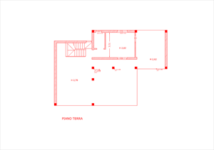Villa Sogno di Palatina : планиметрия