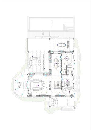 Villa Brenda : Planimetria