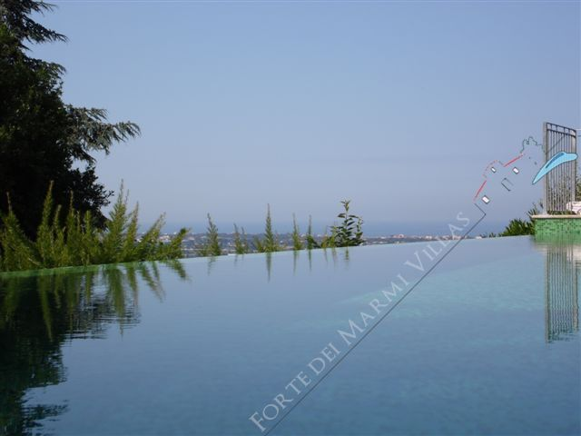 Villa Collina   sea  view : Piscina