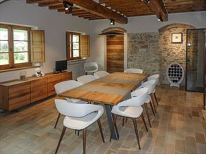 Villa Maestosa : Sala da pranzo
