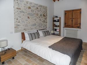 Villa Maestosa : спальня с двуспальной кроватью