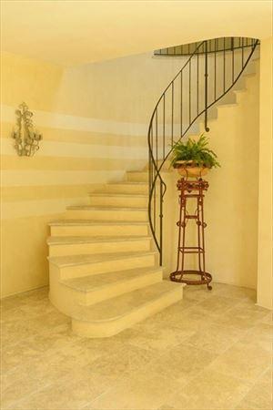 Villa Principe : мраморная лестница