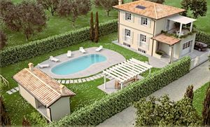 Villa con piscina  vendita : Vista esterna