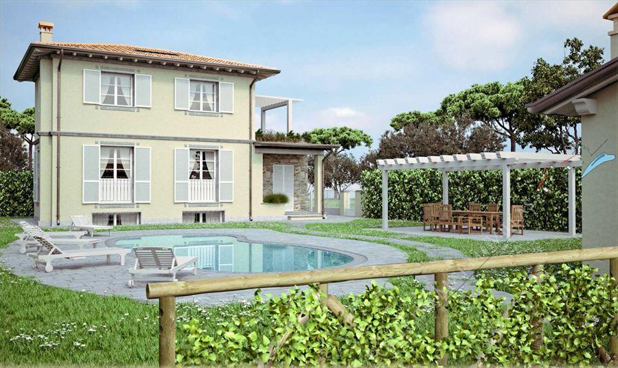 Villa con piscina  vendita - Detached villa Camaiore