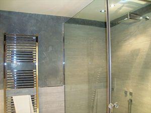 Villa Arianna : Ванная комната с душем