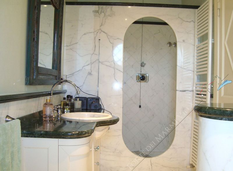 Villa dell Arte : Bagno con doccia