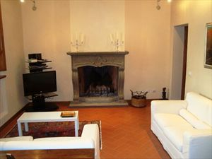 Villa Rosmarino : Гостиная