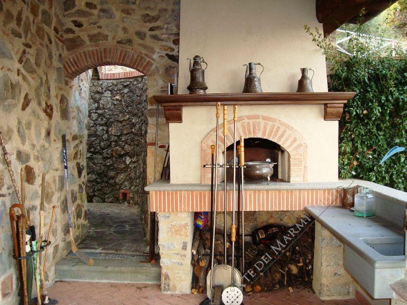 Villa Rosmarino : Zona Barbecue