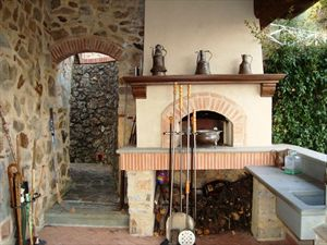 Villa Rosmarino : Зона барбекю