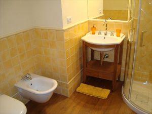 Villa Rosmarino : Ванная комната с душем