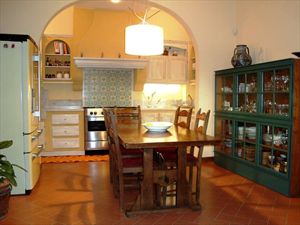 Villa Rosmarino : Kitchen