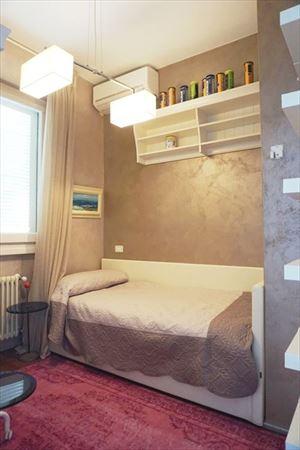 Villa Anastasia : спальня с односпальной кроватью