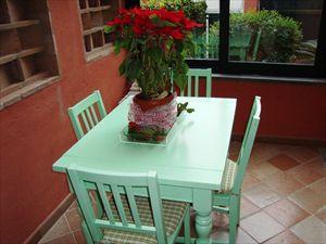 Villa Apuana : Veranda