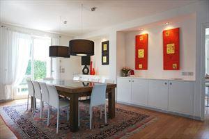 Villa  Brosio  : Sala da pranzo