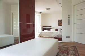 Villa  Brosio  : хозяйская спальня