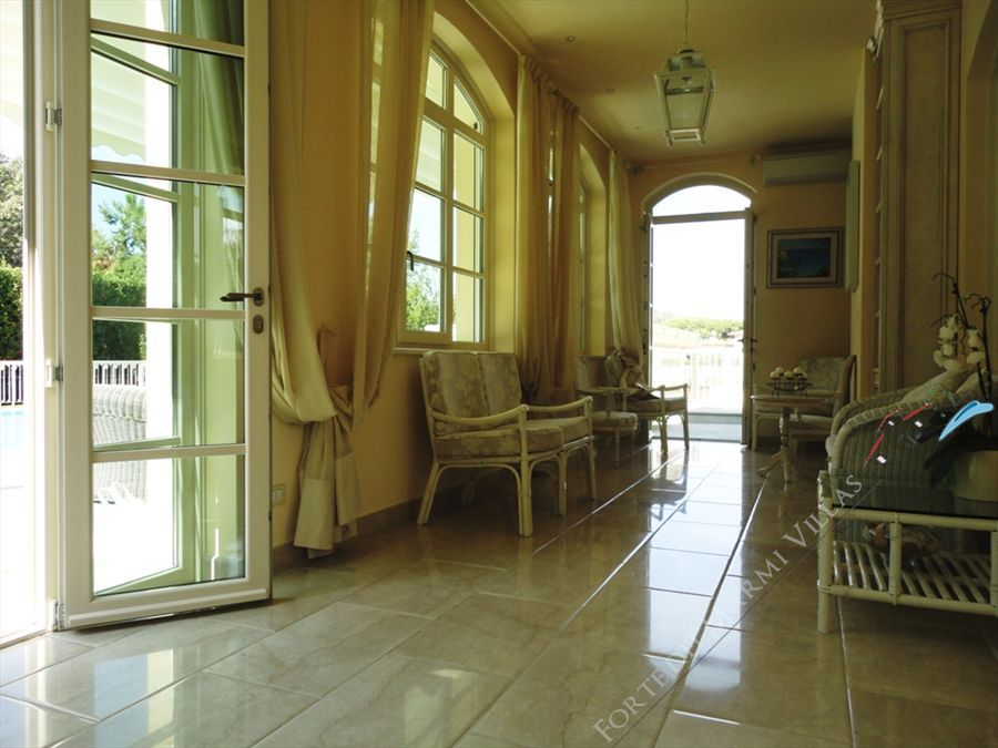 Villa Cleopatra : Veranda
