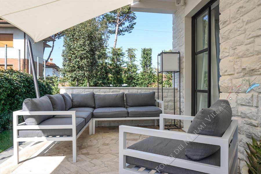 Villa Costa : Veranda