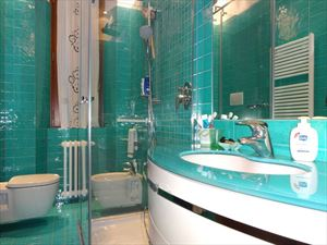 Villa Dalia : Ванная комната с душем