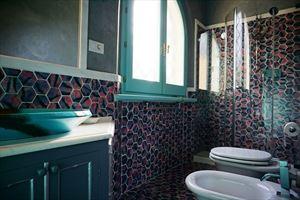 Villa Diantha : Bagno con doccia