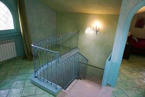 Villa Diantha : мраморная лестница