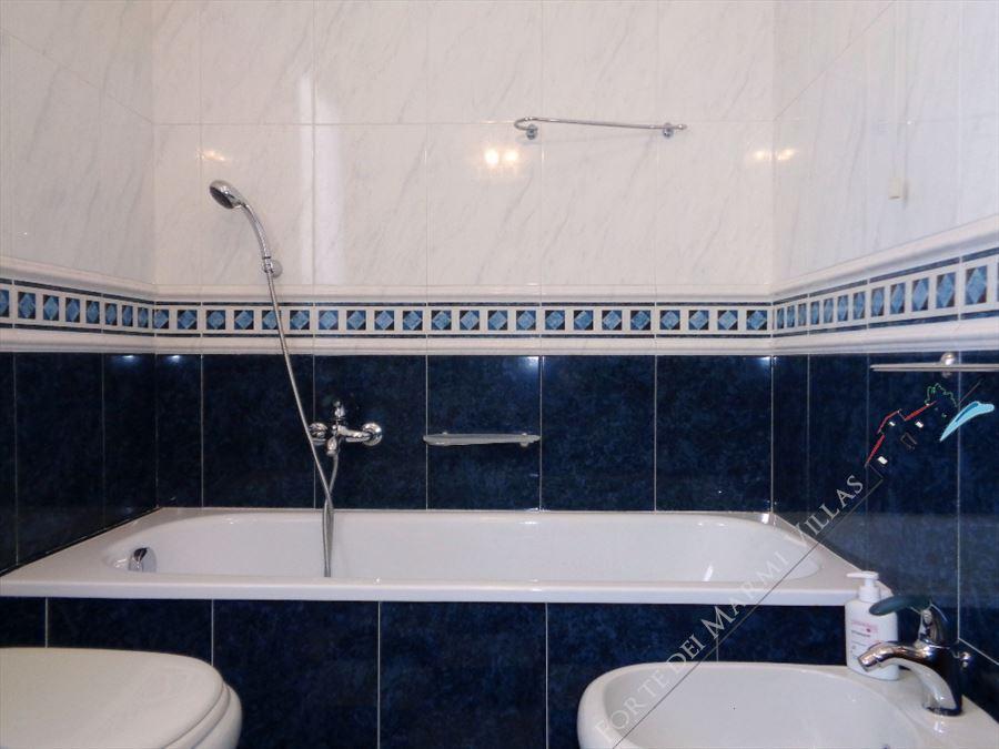 Villa Diletta : Bagno con vasca
