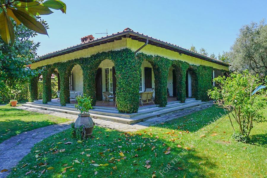 Villa Dipinto detached villa to rent and for sale Forte dei Marmi