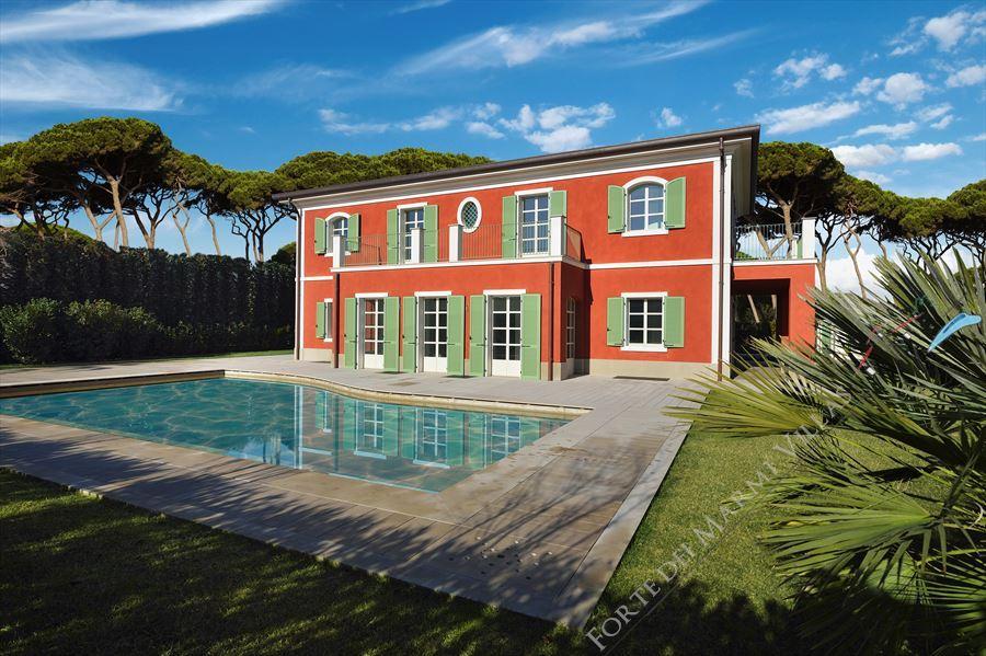 Villa Gioconda villa singola in affitto e vendita Forte dei Marmi