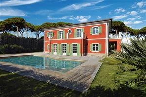 Villa Gioconda: Detached villa for sale Forte dei Marmi