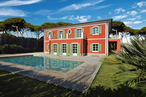 Villa Gioconda: Detached villa Forte dei Marmi