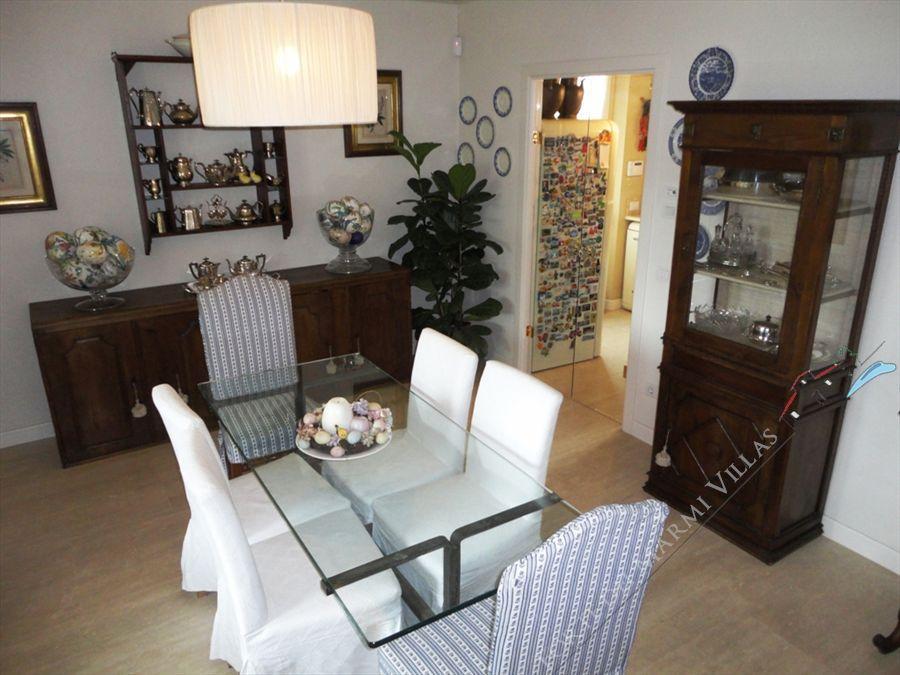 Villa Iris  : Sala da pranzo