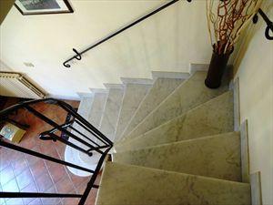 Villa Jessica : мраморная лестница