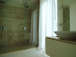 Villa Lucente  : Bathroom with shower