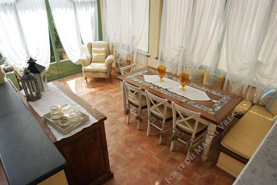 Villa Marielle : Veranda