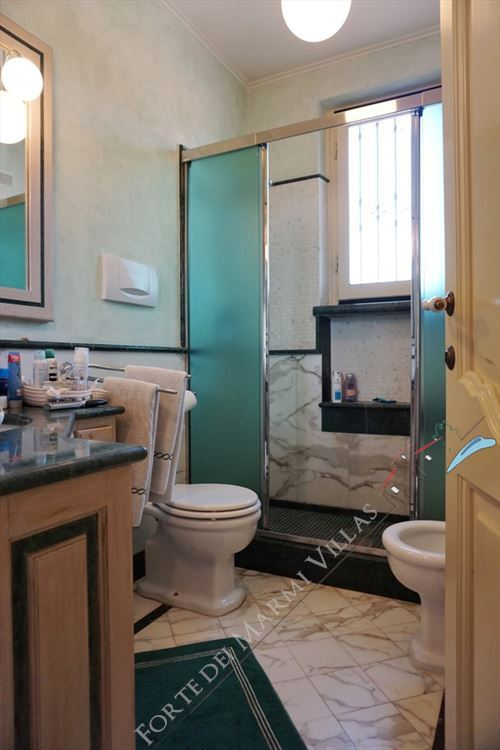 Villa Marielle : Bagno con doccia