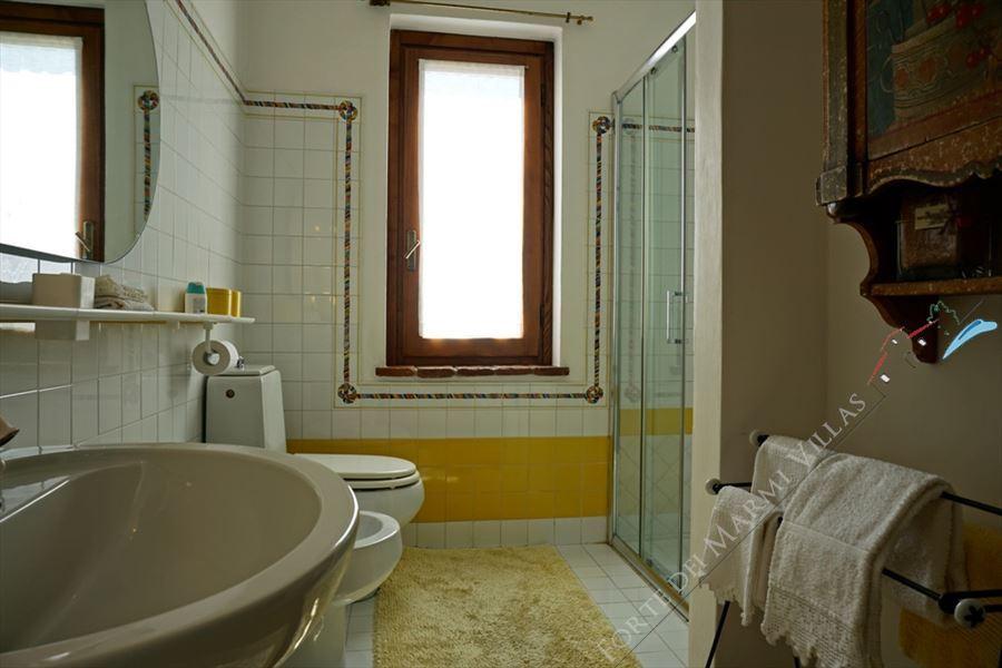Villa Marilena : Bagno con doccia