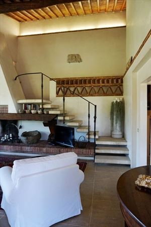 Villa Marilena : Камин