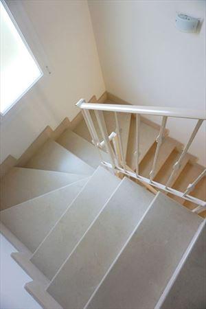 Villa Onda : мраморная лестница