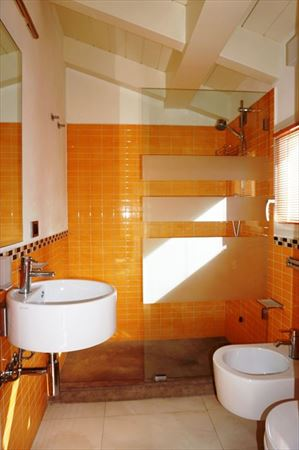 Villa Penthouse : Ванная комната с душем