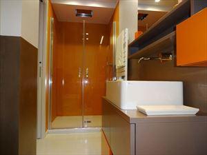 Villa Sibel : Bagno con doccia