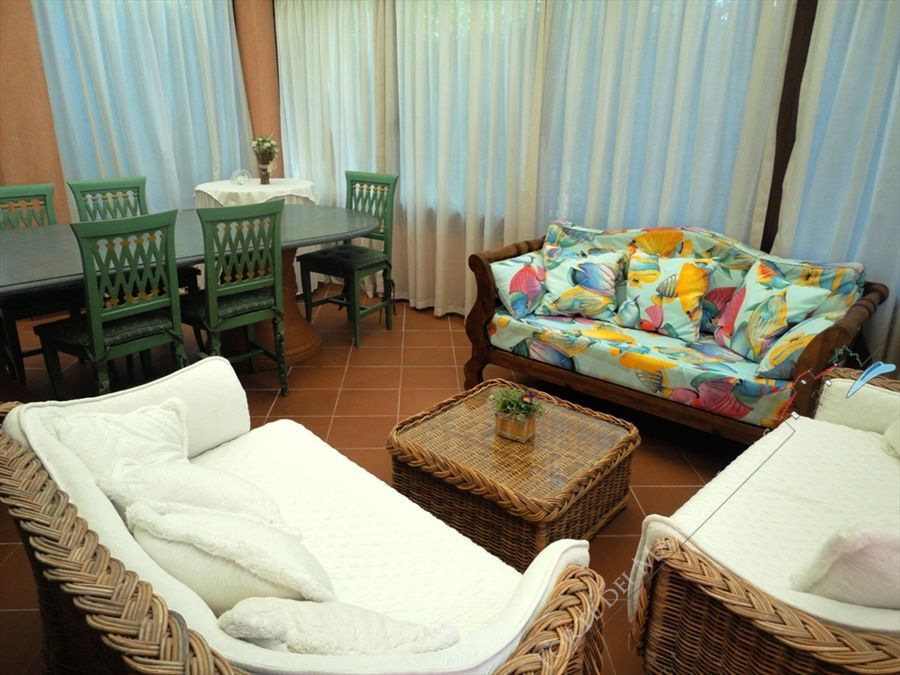 Villa Versilia Beach  : Veranda