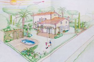 Villa   Aquilone  Verde: Detached villa Forte dei Marmi