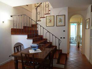 Villa Rita : Scale di legno