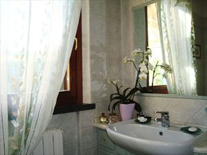 Villetta Violetta : Bathroom with shower