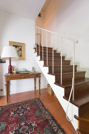 Villa Michela  : Wooden stairs