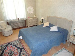 Villa  Principessa : спальня с двуспальной кроватью