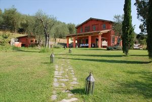 Villa  Golf  Versilia  : Outside view