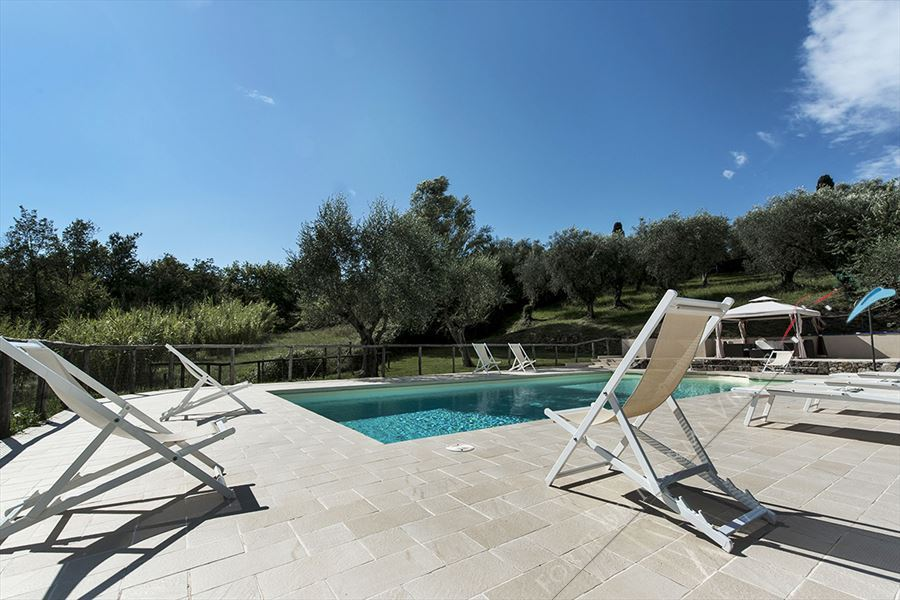 Villa con piscina   Versillia  : Outside view