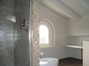 Bifamiliare Nettuno : Ванная комната с душем