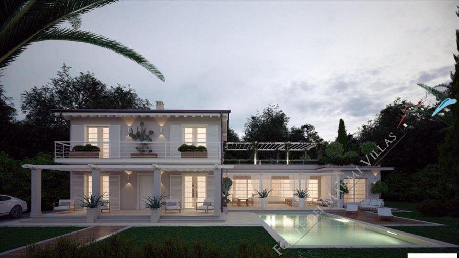 Villa bertelli villa singola con piscina in vendita a - Ville americane interni ...