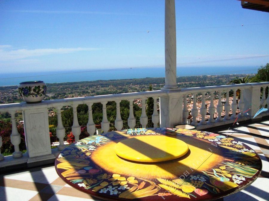 Villa Vista Mare luxury  : Terrazza panoramica